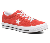 One Star OG Suede Ox W Sneaker in rot