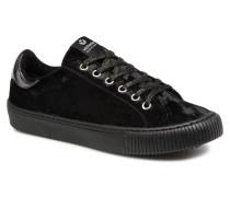 Deportivo Terciopelo Sneaker in schwarz