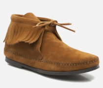 CLASSIC FRINGE Stiefeletten & Boots in braun
