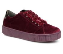 SALLY Sneaker in weinrot