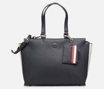 EFFORTLESS SAFFIANO EW TOTE Handtasche in blau