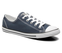 All Star Dainty Canvas Ox W Sneaker in blau
