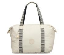 Art M Fold Handtasche in weiß