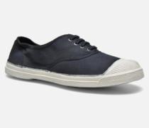 Tennis Lacets Sneaker in schwarz