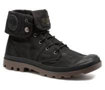 Pallabrouse BGY Wax Sneaker in schwarz
