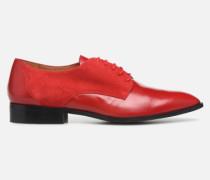Soft Folk Chaussures à Lacets #2 Schnürschuhe in rot