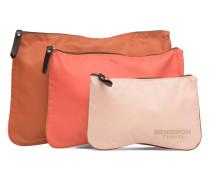 Zipped pocket set Mini Bag in rosa