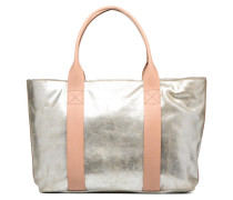 TASMIN BELLA Cabas cuir Handtasche in silber