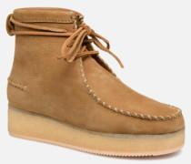 Wallabee Craft Stiefeletten & Boots in braun