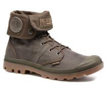 Pallabrouse BGY Wax Sneaker in braun