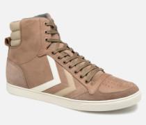 Slimmer Stadil Duo Oiled High Sneaker in braun