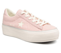 One Star Platform Ox Sneaker in rosa