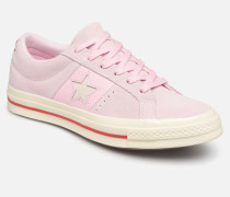 One Star Fashion Baller Ox Sneaker in rosa
