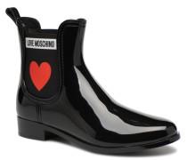 Rain Plain Anckle Boot Stiefel in schwarz