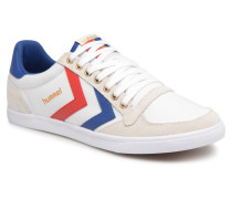 Slimmer Stadil Low canvas Sneaker in weiß