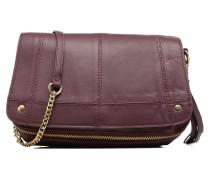 Jase Leather Crossbody Handtasche in weinrot