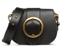 LENNOX BELT SADDLE Handtasche in schwarz