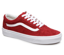 Old Skool W Sneaker in rot