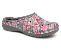 Freesail Graphic Lined Clogs & Pantoletten in rosa
