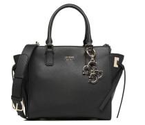 Digital Status Satchel Handtasche in schwarz