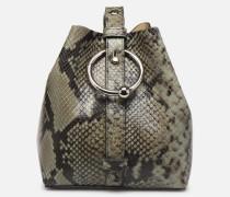 MINI KATE BUCKET PITONE Handtasche in grün