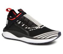 Tsugi Jun Sport Stripes Sneaker in schwarz