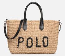 STRUCTURED BASKET TOTE S Handtasche in beige