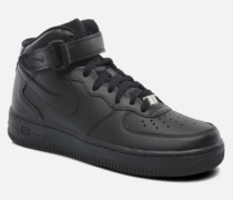 Wmns Air Force 1 Mid '07 Le Sneaker in schwarz