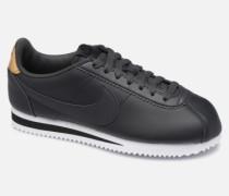 Classic Cortez Sneaker in schwarz