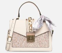 GLENDAA Handtasche in weiß