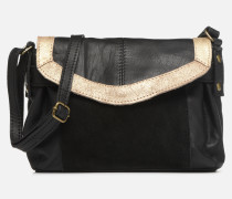 ISAURA LEATHER SMALL CROSSBODY Handtasche in schwarz