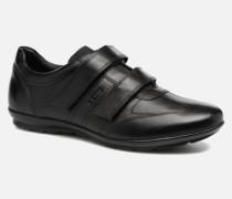 U Symbol D U74A5D Sneaker in schwarz