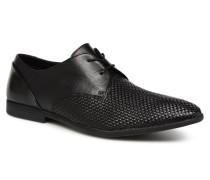 Bampton Weave Schnürschuhe in schwarz