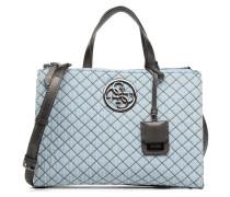 G Lux Status Satchel Handtasche in blau