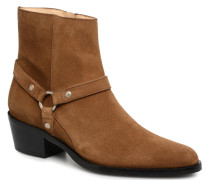 Jane 5 Harnais Zip Boot Stiefeletten & Boots in braun