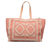 MARVA BAY Cabas Handtasche in rosa