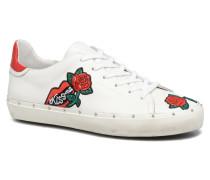 Michell Rose Nappa Sneaker in weiß