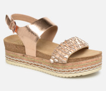 886028F2L Sandalen in goldinbronze