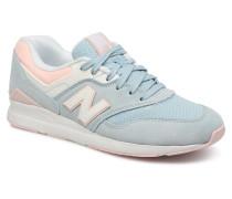 WL697 Sneaker in blau