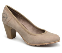 LARISSA SUEDE Pumps in grau