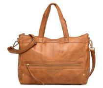 Florina Leather Bag Handtasche in braun