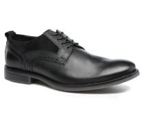 Wynstin Plain Toe Schnürschuhe in schwarz