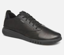 U AERANTIS Sneaker in schwarz
