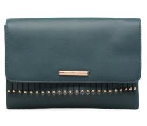 Fringe Stud Backpack Mini Bag in blau