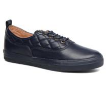 Superquilted Sneaker in blau