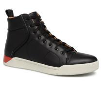 Sbeakers montantes noir Sneaker in schwarz