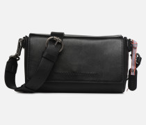 Lili Shoulder Bag Handtasche in schwarz