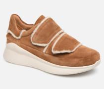 W Ashby Spill Seam Sneaker in braun