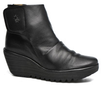 YOMI Stiefeletten & Boots in schwarz