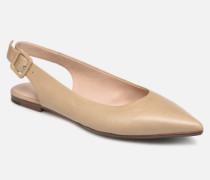 Chanelle Ballerinas in beige